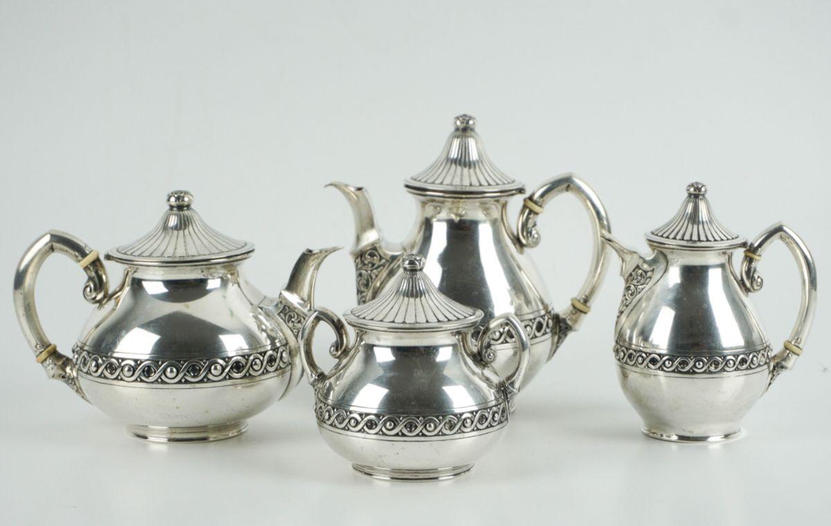 Serviço de chá e café Art Deco