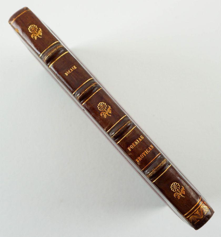 Poesias Eróticas, Burlescas e Satyricas por M.M.de Barbosa Du Bocage