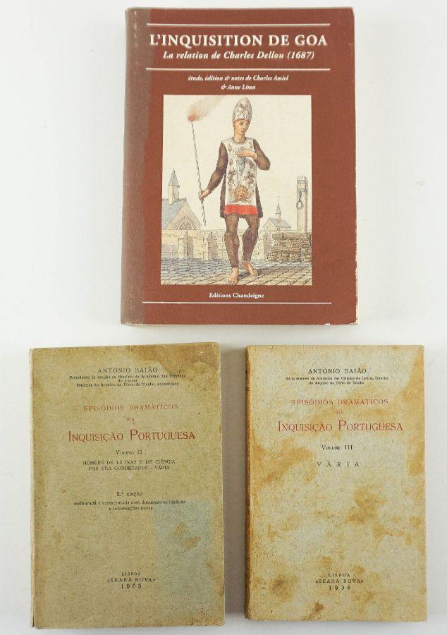 Inquisição, três livros