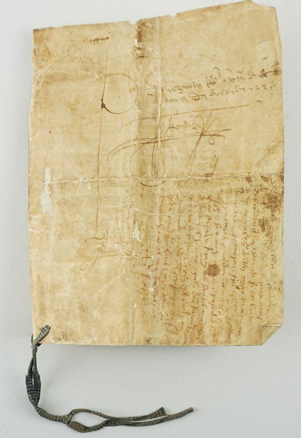 Manuscrito s/ pergaminho