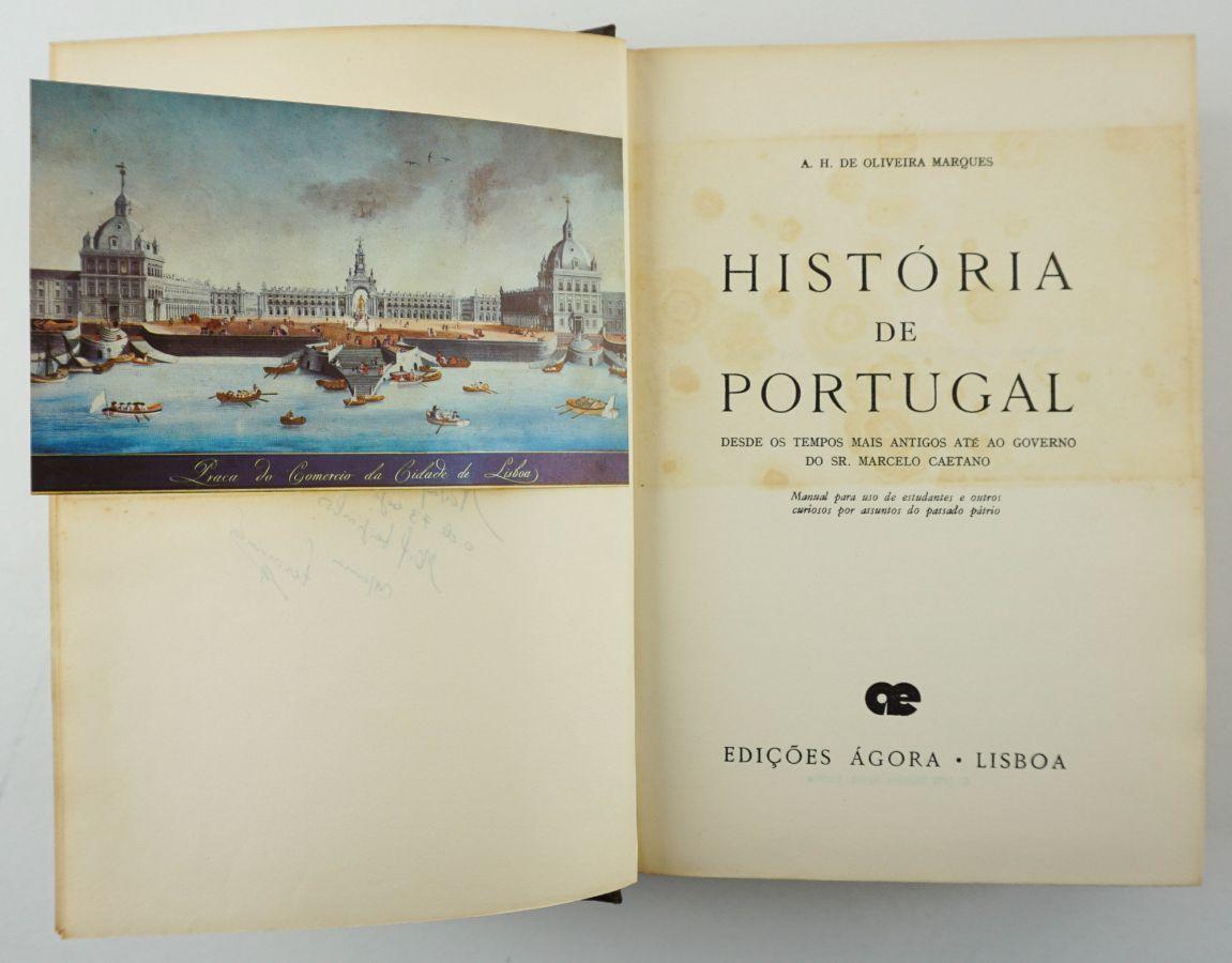 História de Portugal por A.H. de Oliveira Marques