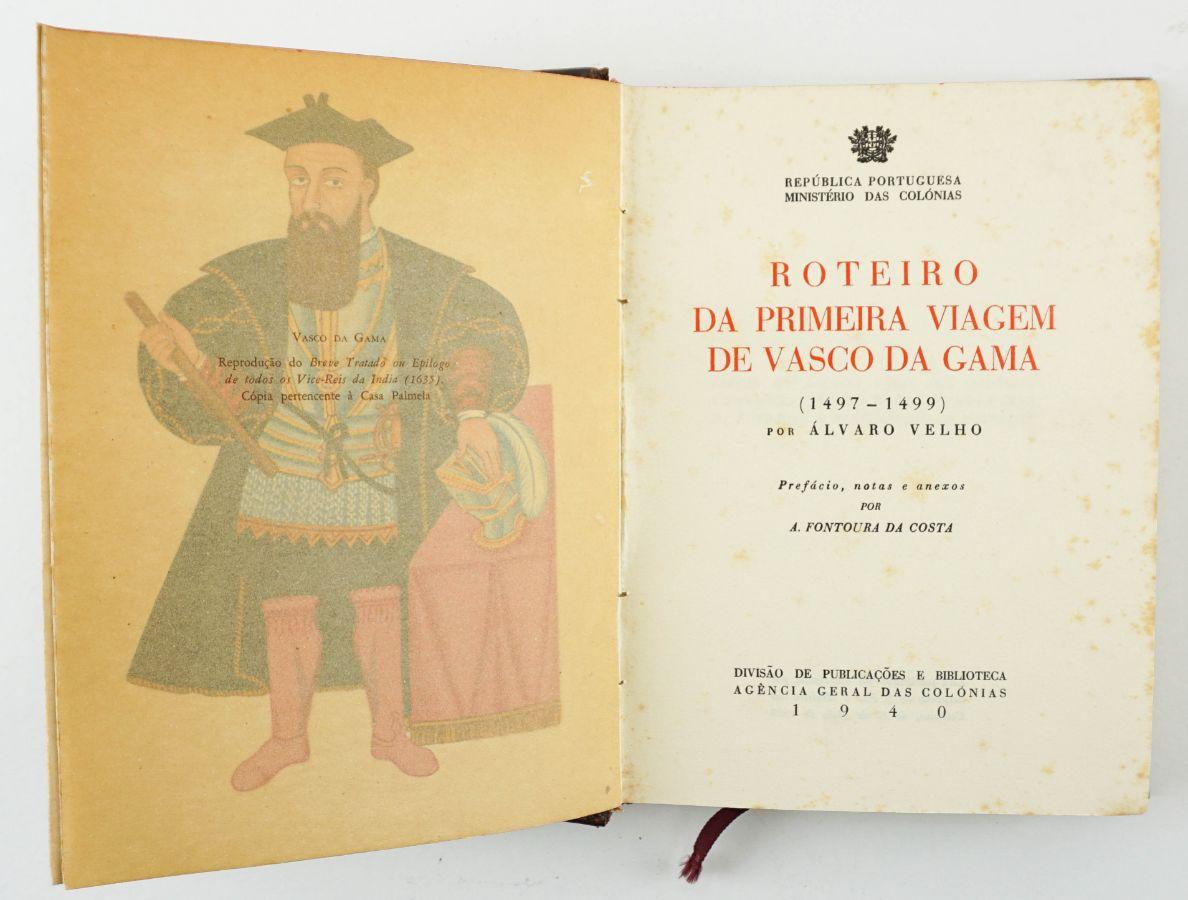 Roteiro da Primeira Viagem de Vasco da Gama ( 1497 – 1499 ) por Álvaro Velho