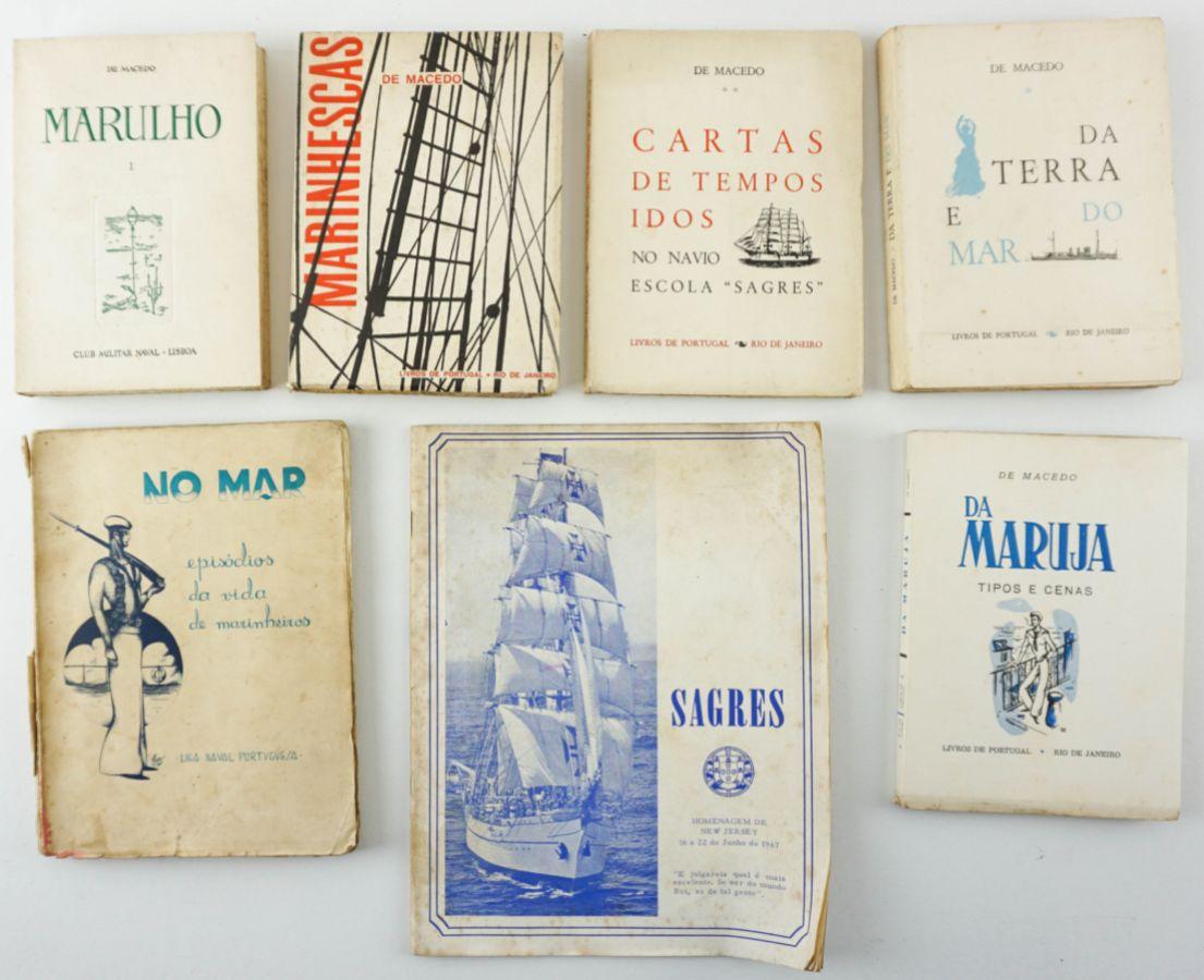 De Macedo, 5 livros sobre o Mar e No Mar