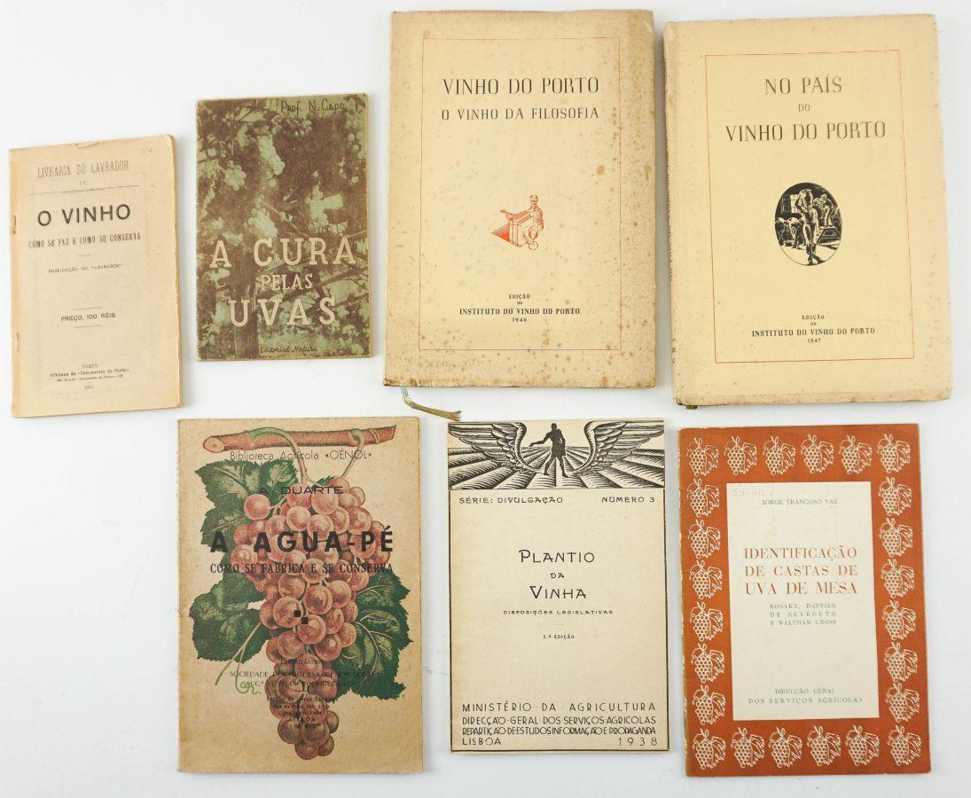 Enologia , dois livros e 5 brochuras