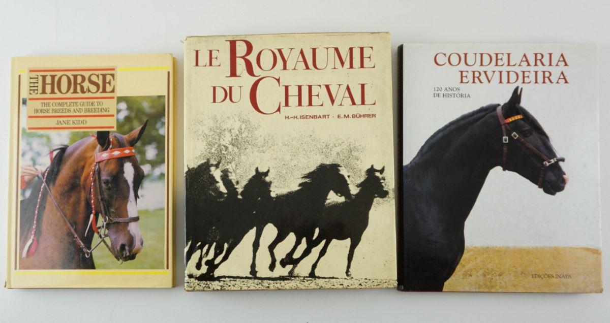 3 Livros sobre Cavalos