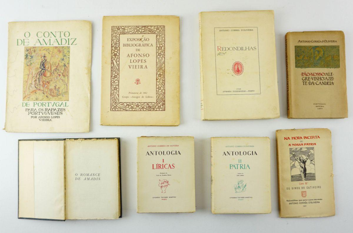 7 Livros António Corrêa D' Oliveira