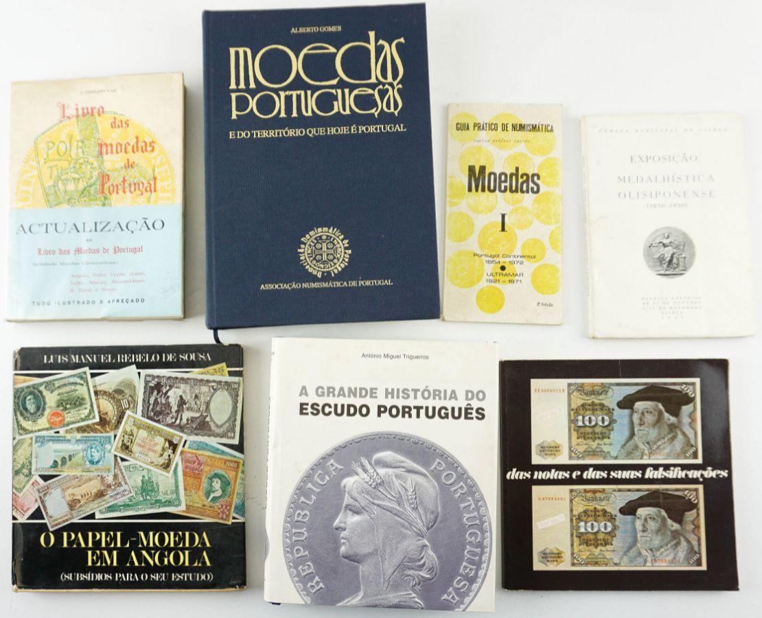 Numismática, 6 livros