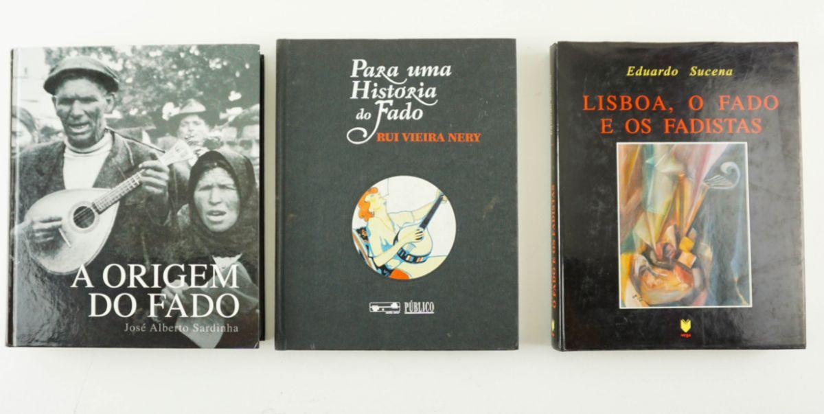 3 Livros sobre O Fado