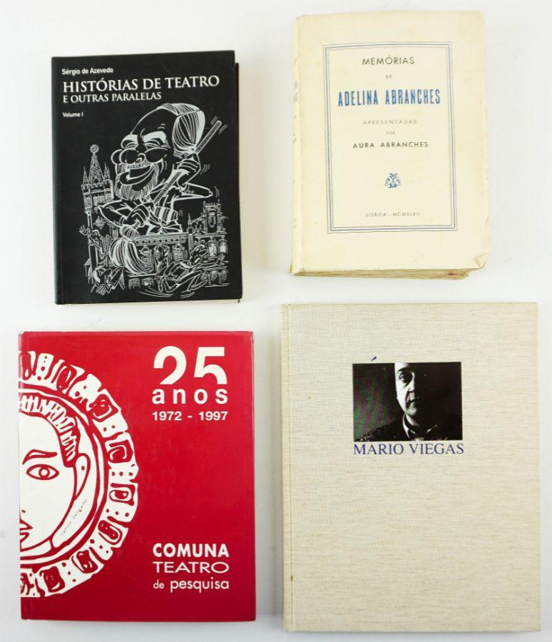 4 Livros sobre Teatro
