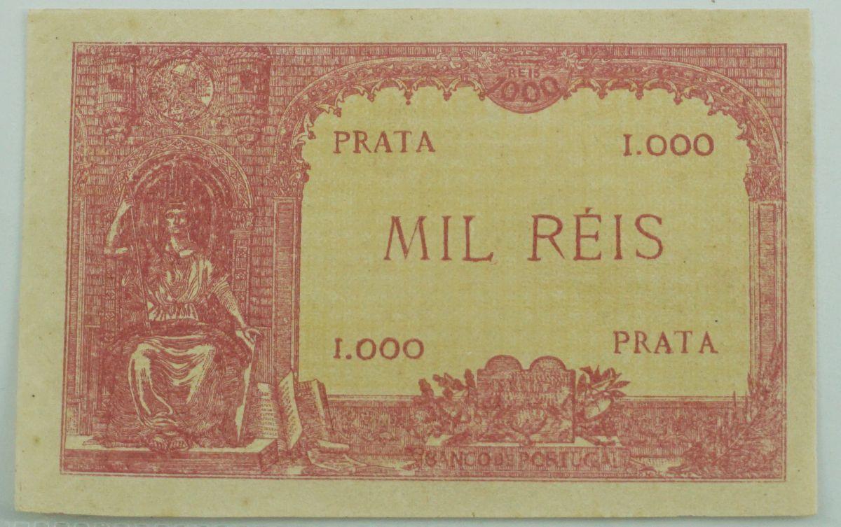 Prova de Nota de 1000 Reis