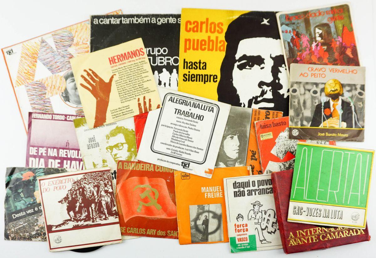 Colecção discos políticos