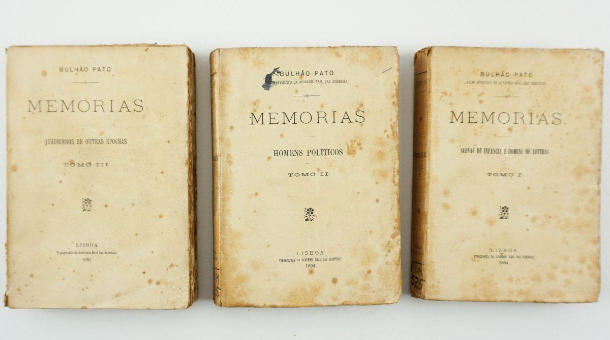 Memórias Bulhão Pato – 1ª edição