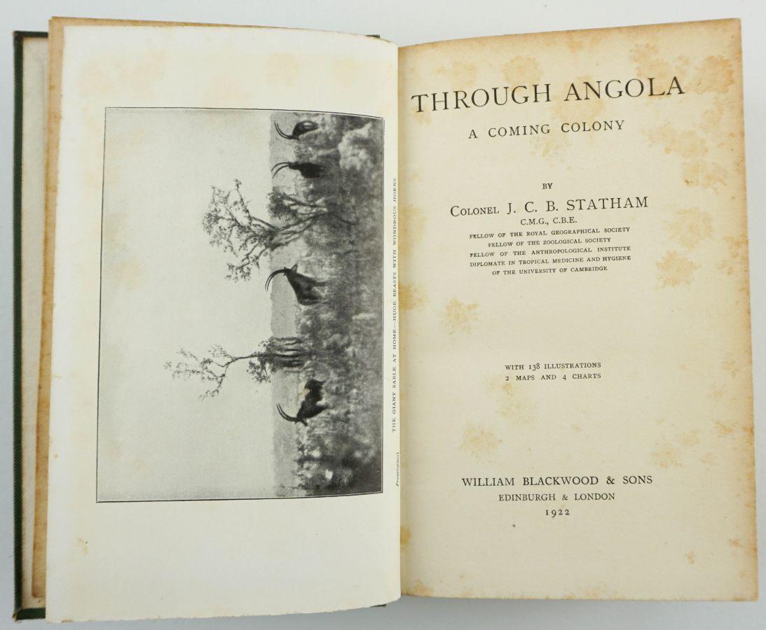 Through Angola a Coming Colony