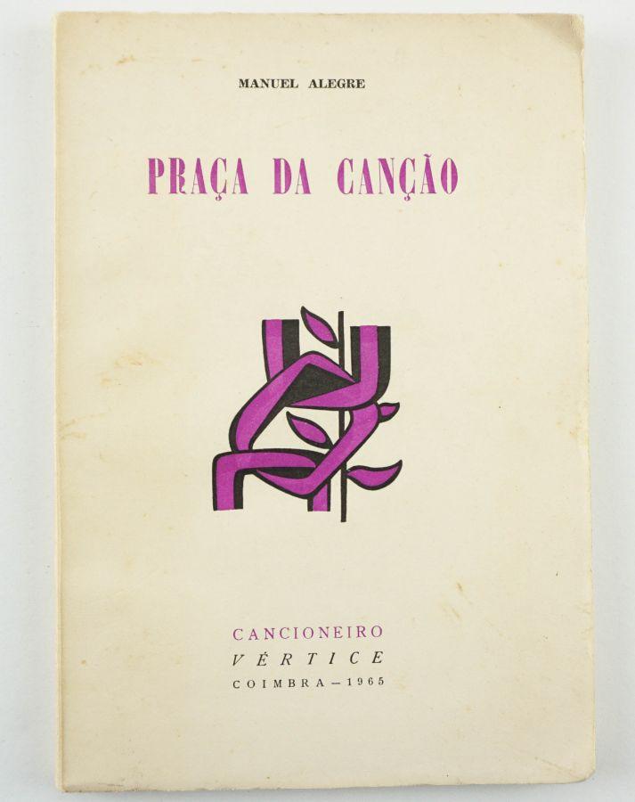 Manuel Alegre. Primeiro livro do autor