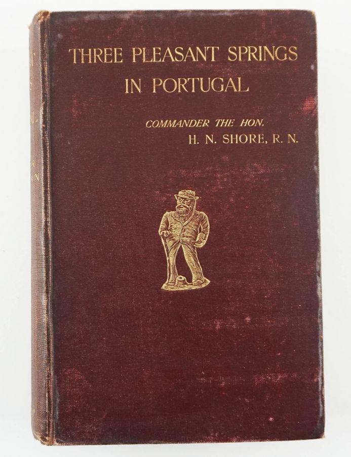 Livro estrangeiro sobre Portugal