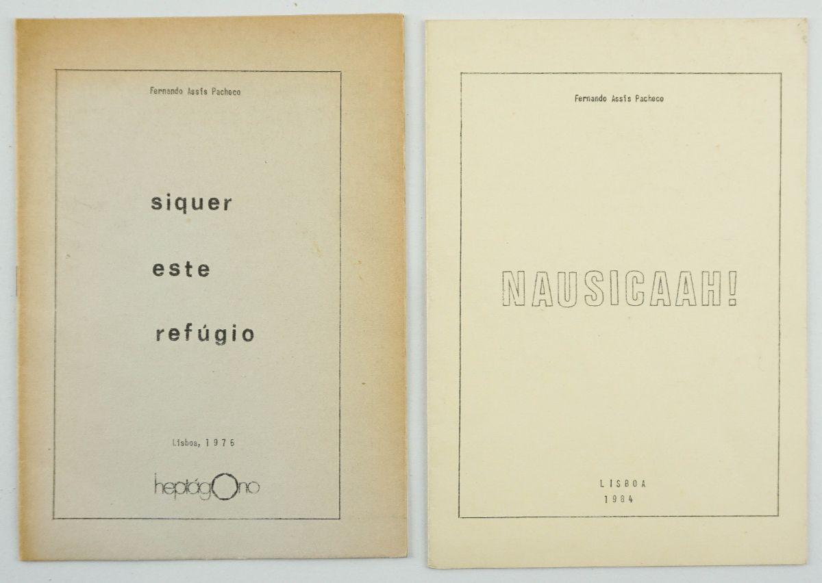 Fernando Assis Pacheco – 2 Plaquetes