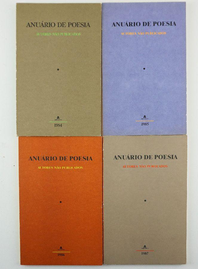 Anuário de Poesia de autores não publicados – Colecção completa