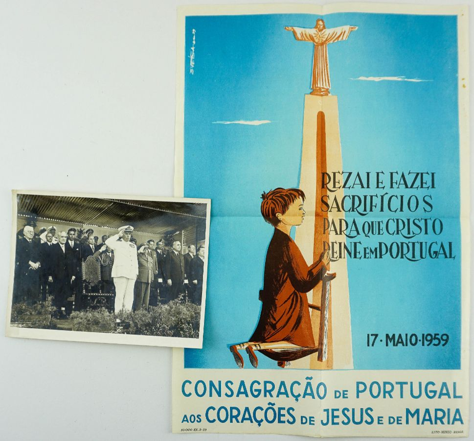Dossiers Inauguração Monumento do Cristo Rei – Almada/ Lisboa