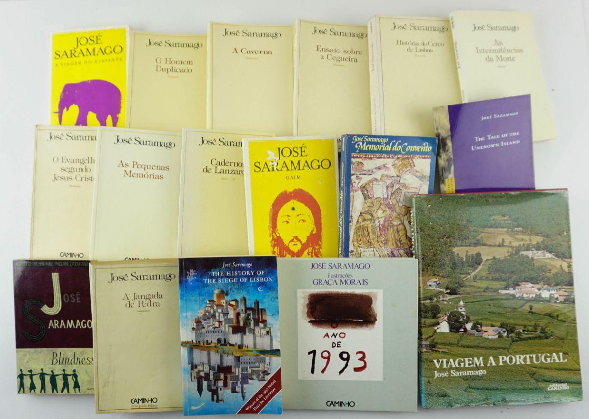 José Saramago 15 Livros