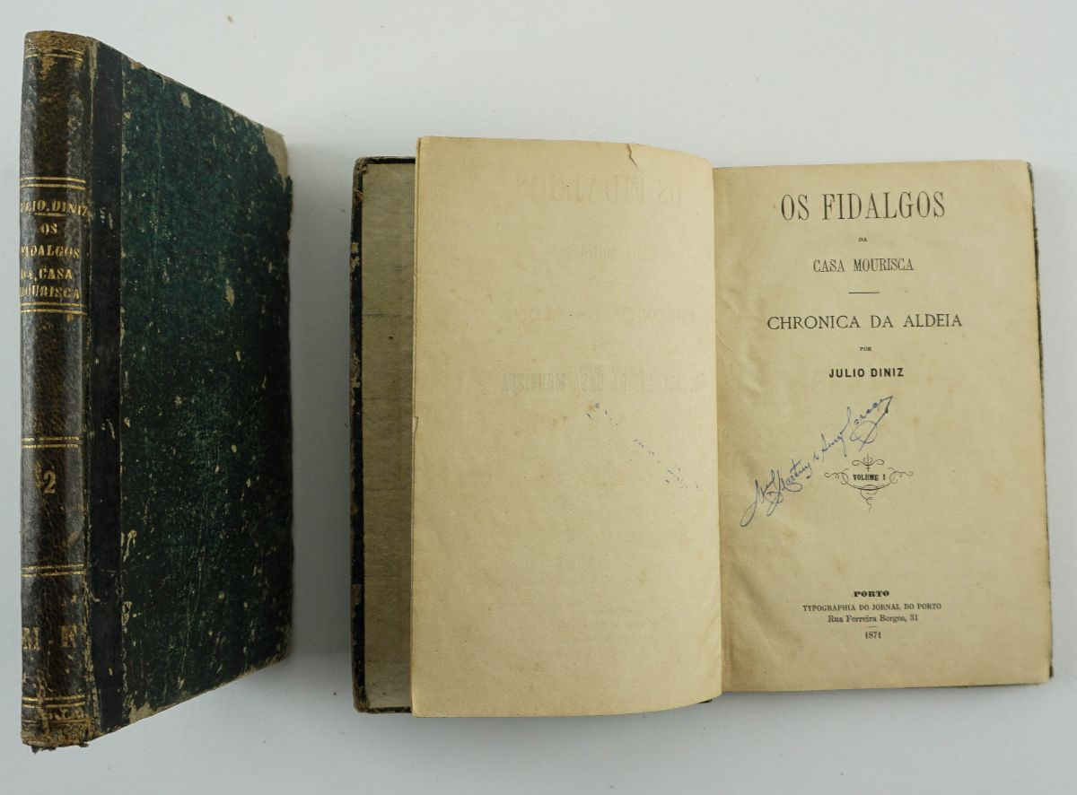 Os Fidalgos da Casa Mourisca 1ª edição