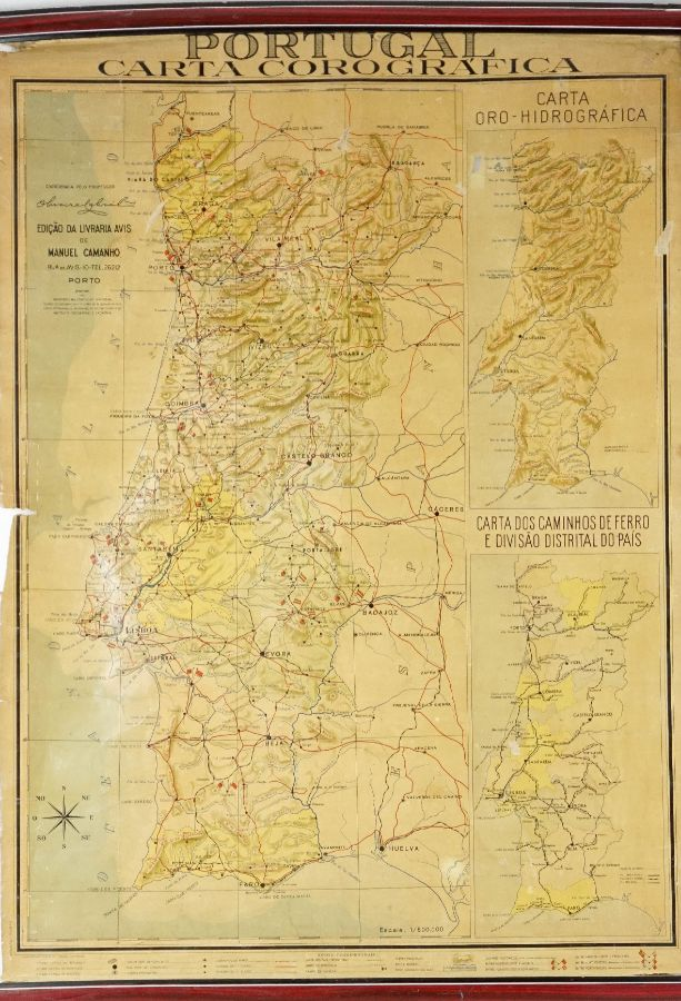 Carta Corográfica de Portugal