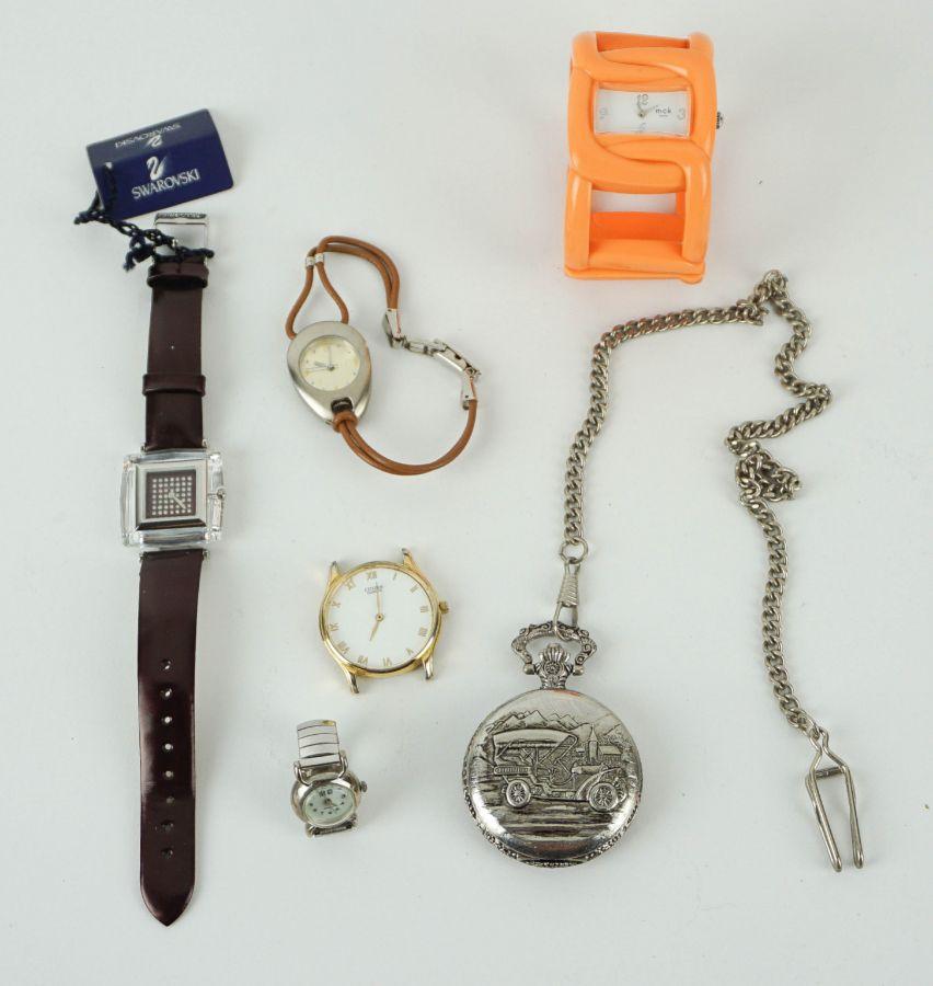 6 Relógios diversos