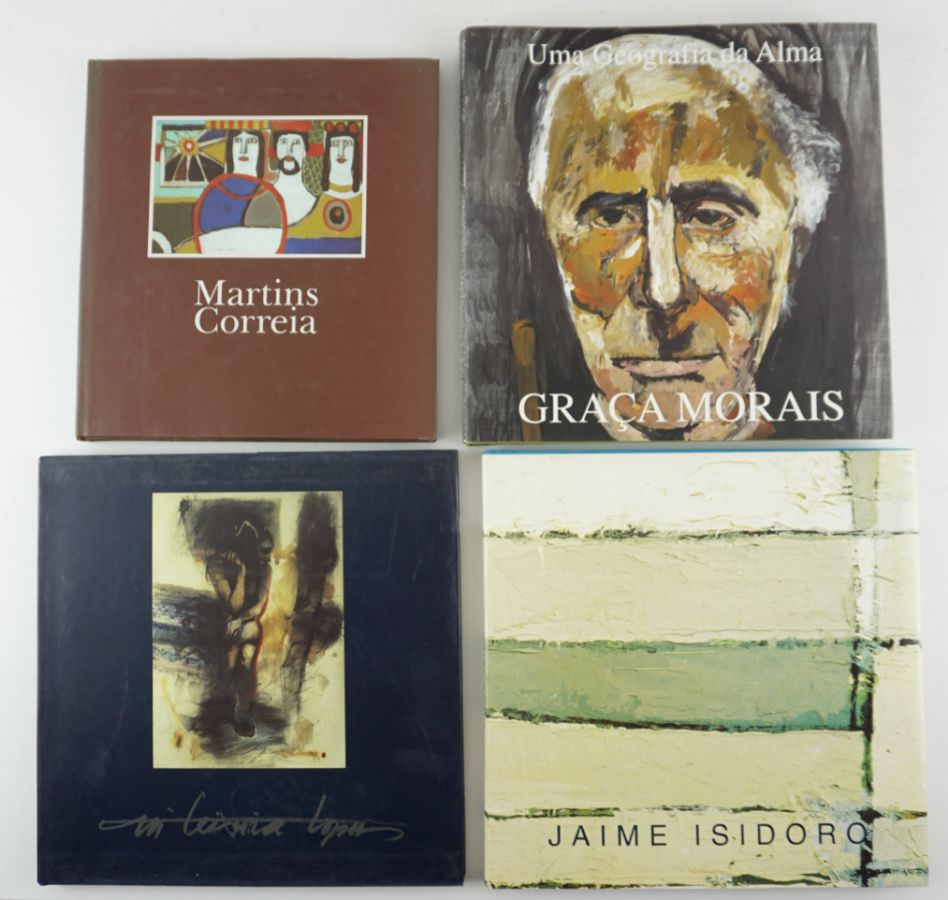8 Livros de Arte