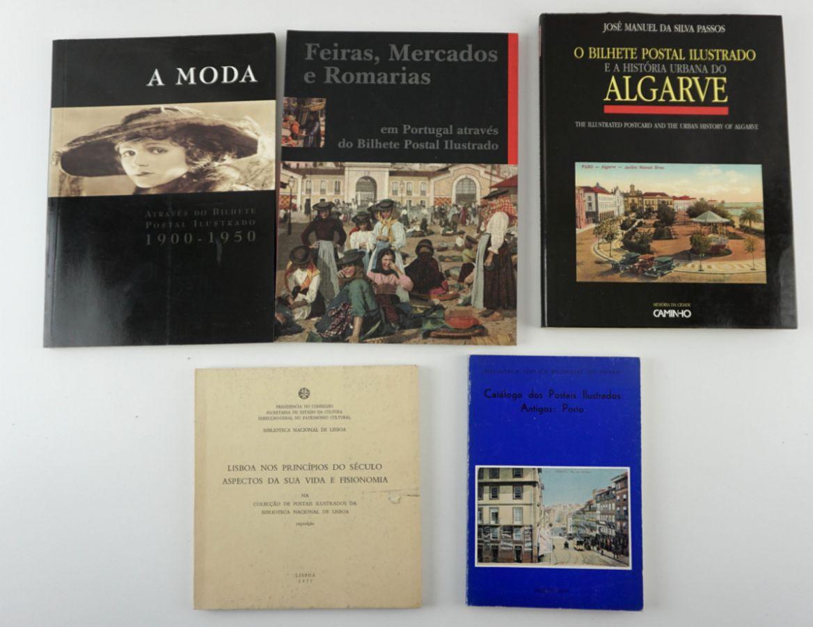 9 Livros sobre Postais