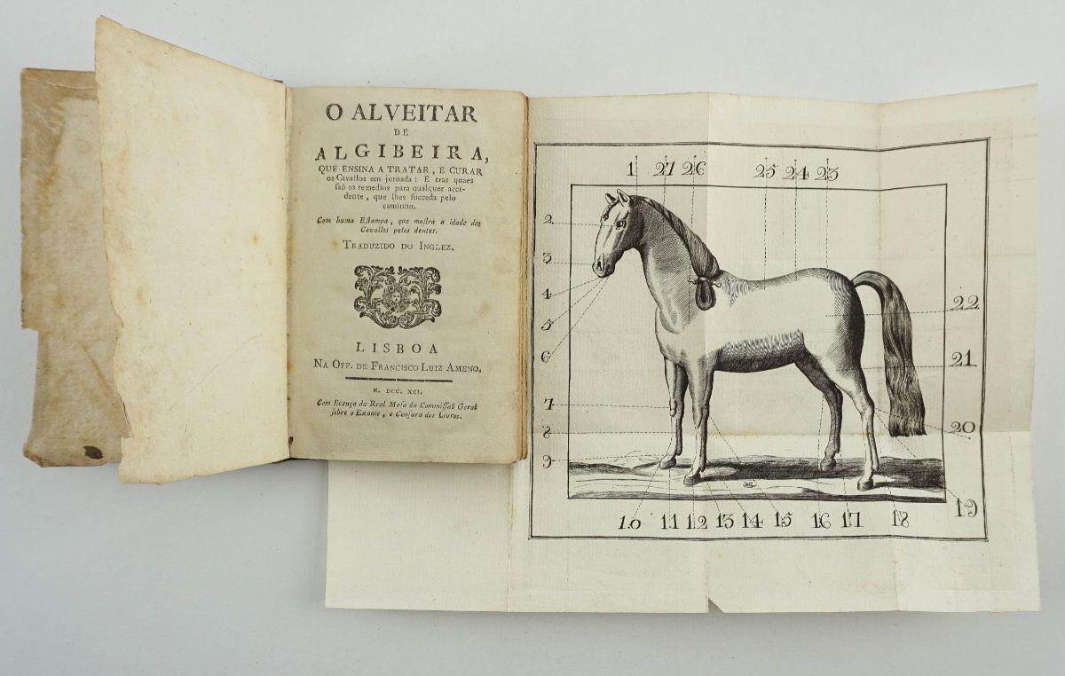 O Alveitar de Algibeira – 1791 Primeira edição