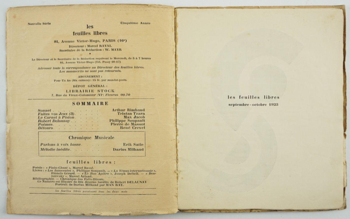 Robert Delaunay e Man Ray