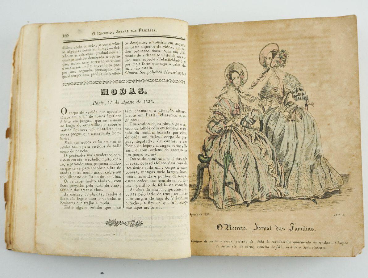 O Recreio - Primeira publicação ilustrada portuguesa