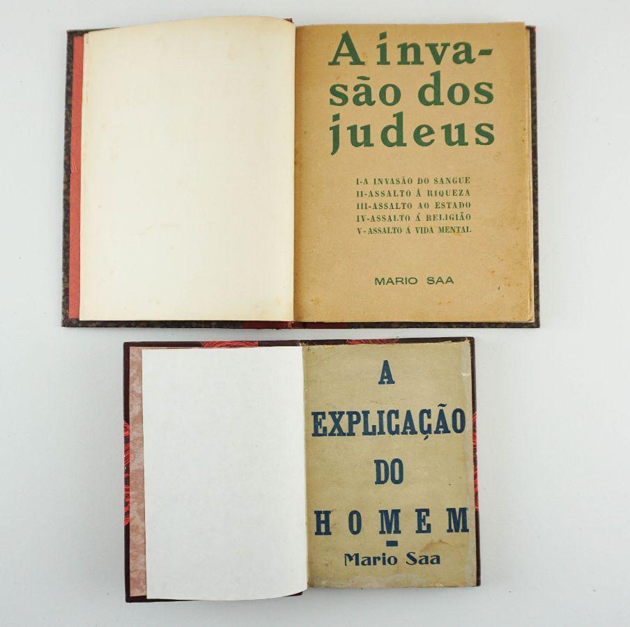 Mário Saa - Primeiras Edições