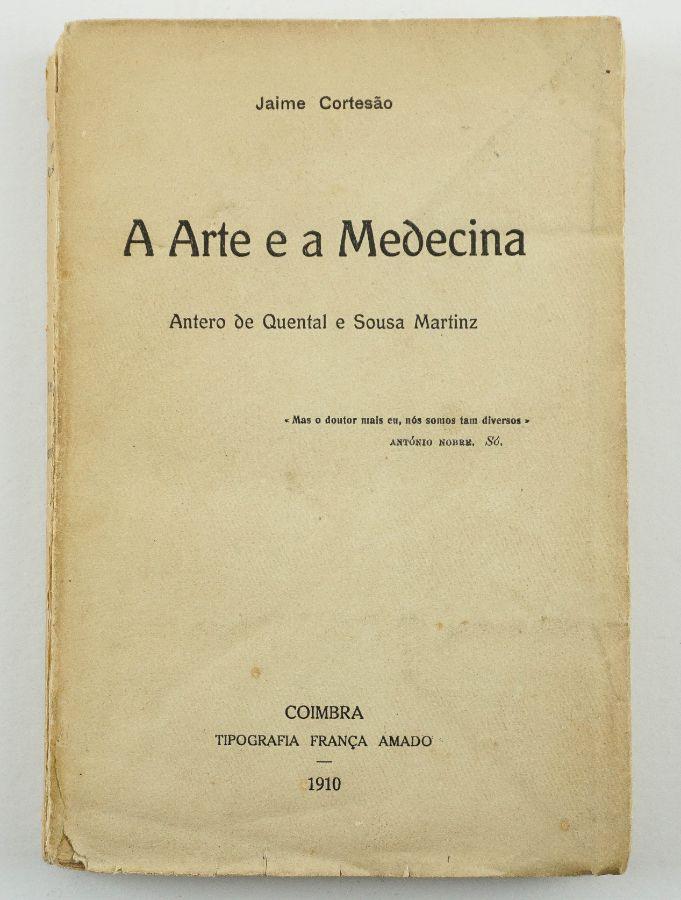 Jaime Cortesão – com dedicatória a Leonardo Coimbra (1910)
