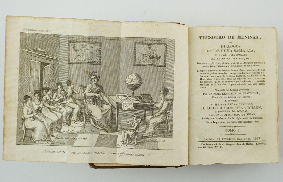 Jeanne Marie Leprince de Beaumont – Tesouro de Meninas (1837)