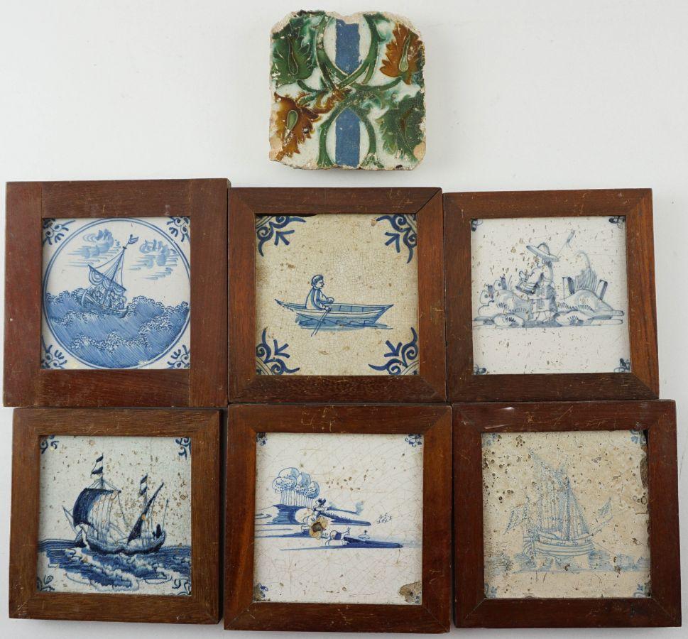 6 Azulejos Holandeses