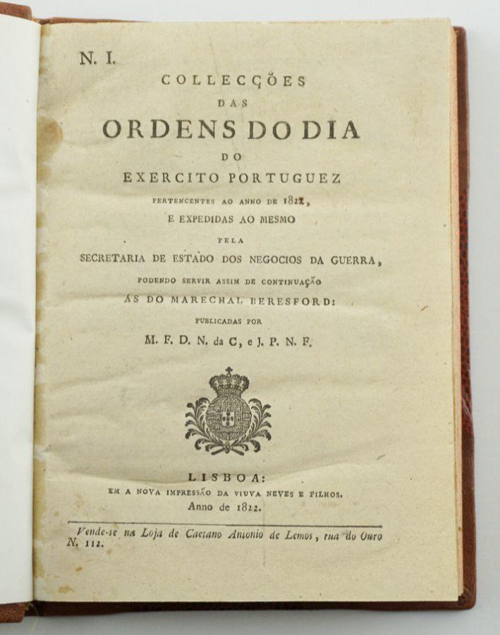 Ordens do Dia do Exército Liberal (1822)