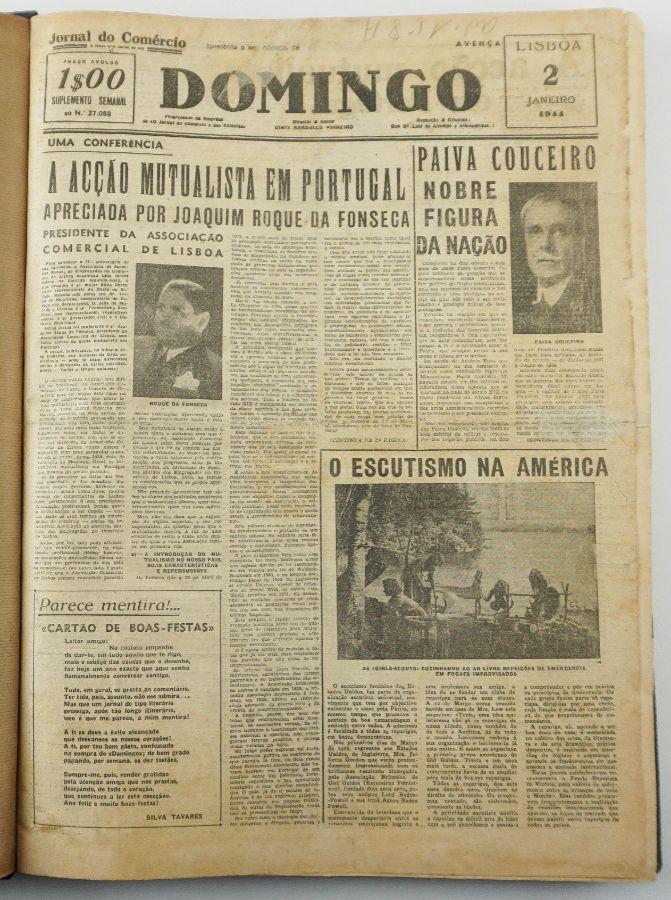 Domingo, Suplemento do Jornal do Comércio (1944)