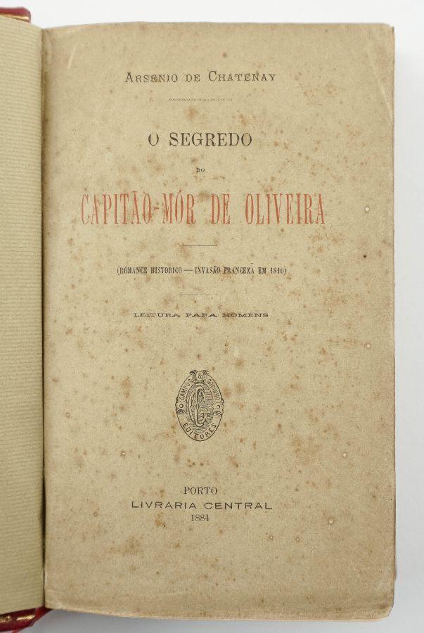 Raro livro erótico português (1884)