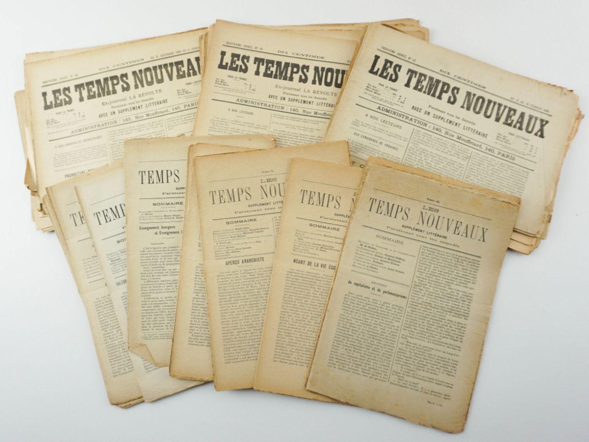 Jornal anarquista Les Temps Nouveaux