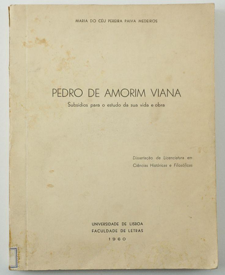 Estudo inédito sobre Pedro de Amorim Viana