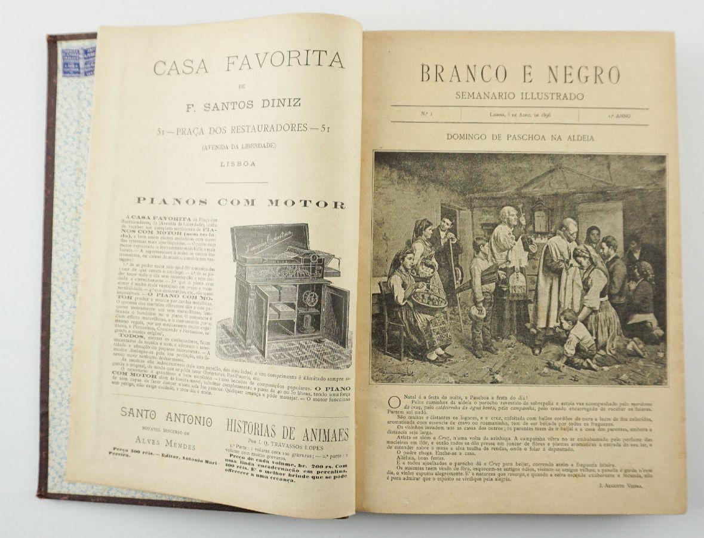 Branco e Negro, semanário ilustrado (1896-1798)
