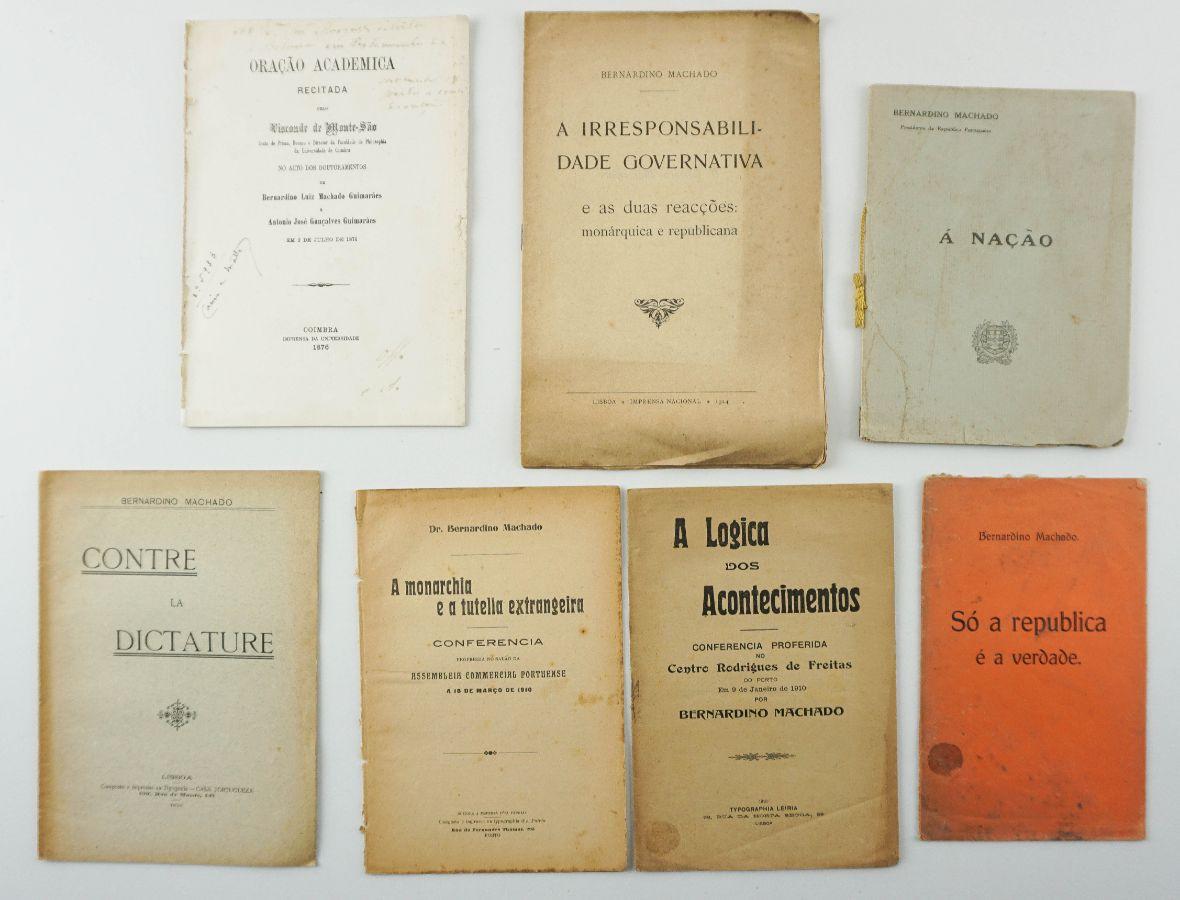 Obras de Bernardino Machado
