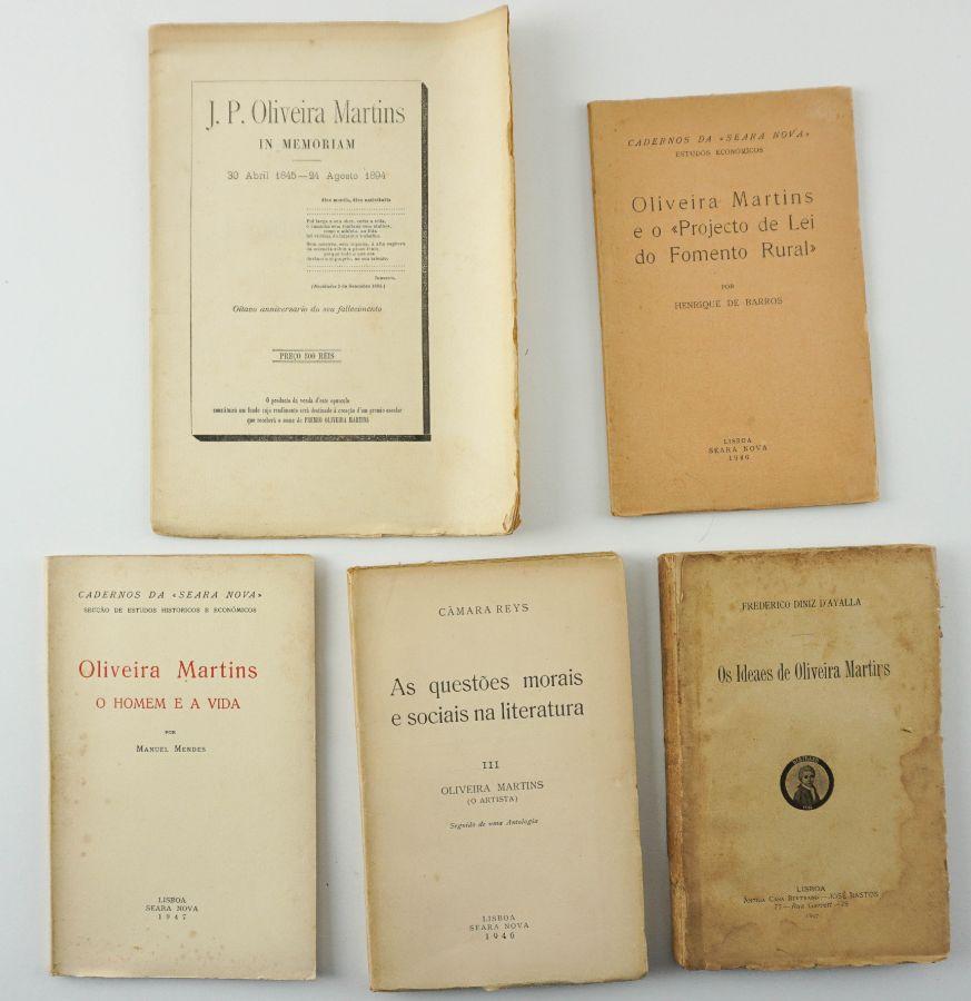 Obras sobre Oliveira Martins