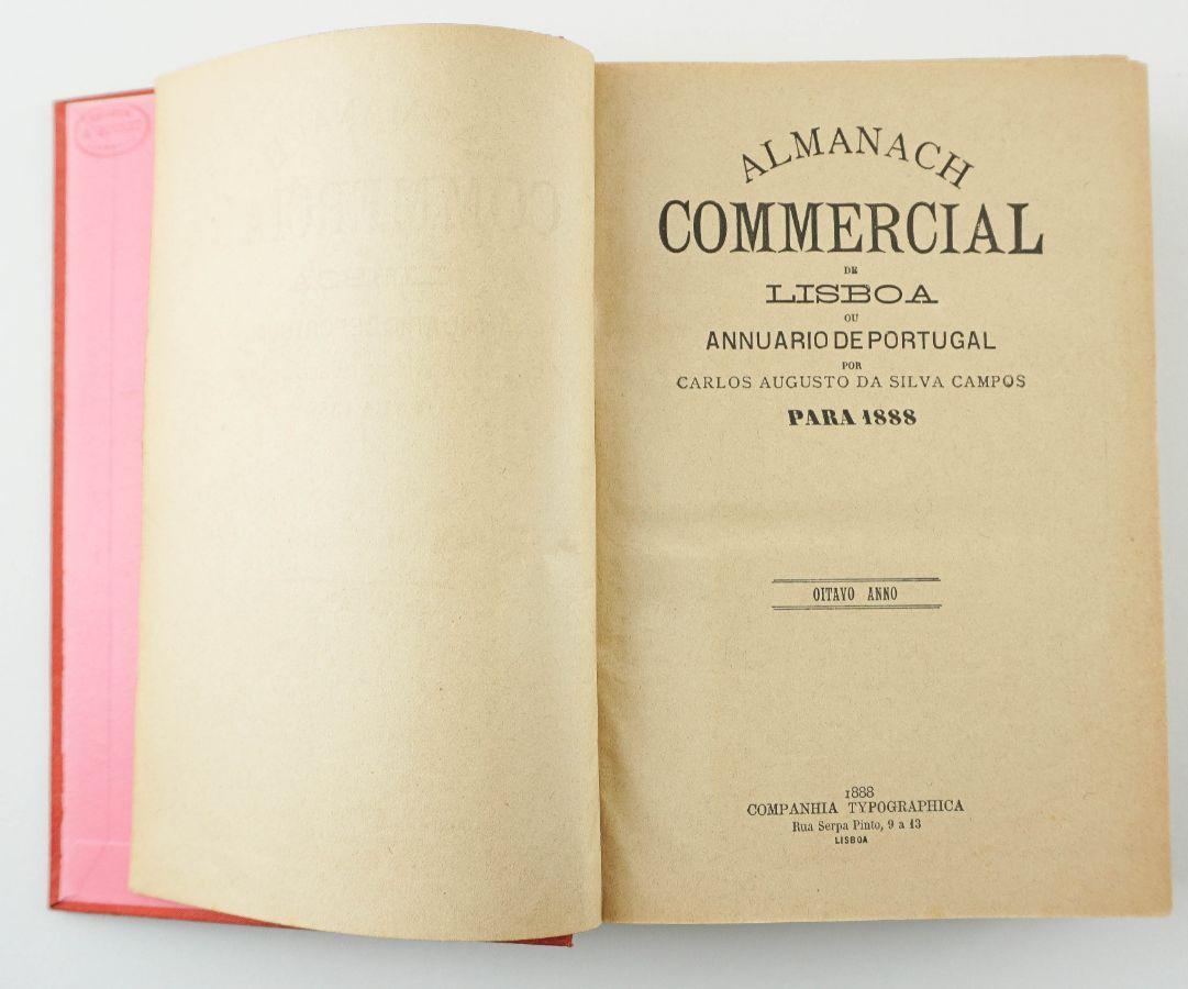 Almanaque Comercial de Lisboa (1888)