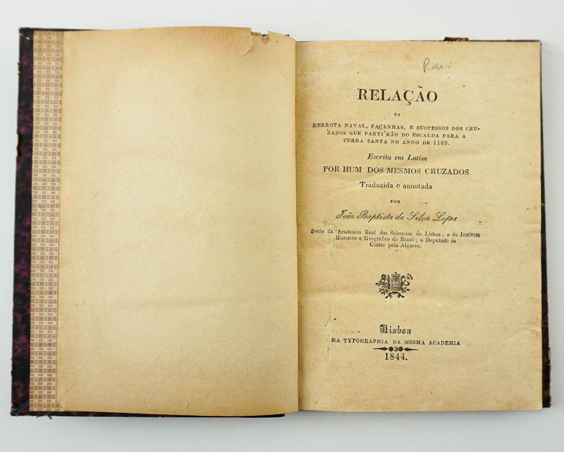 Relação da derrota naval (…) – cidade de Silves (1844)