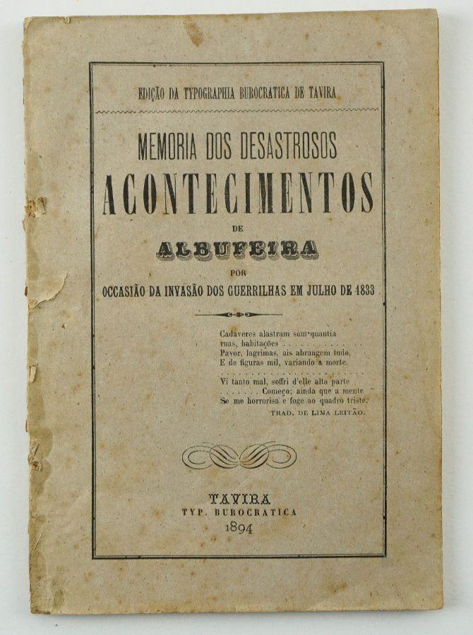 Memória dos Desastrosos Acontecimentos de Albufeira