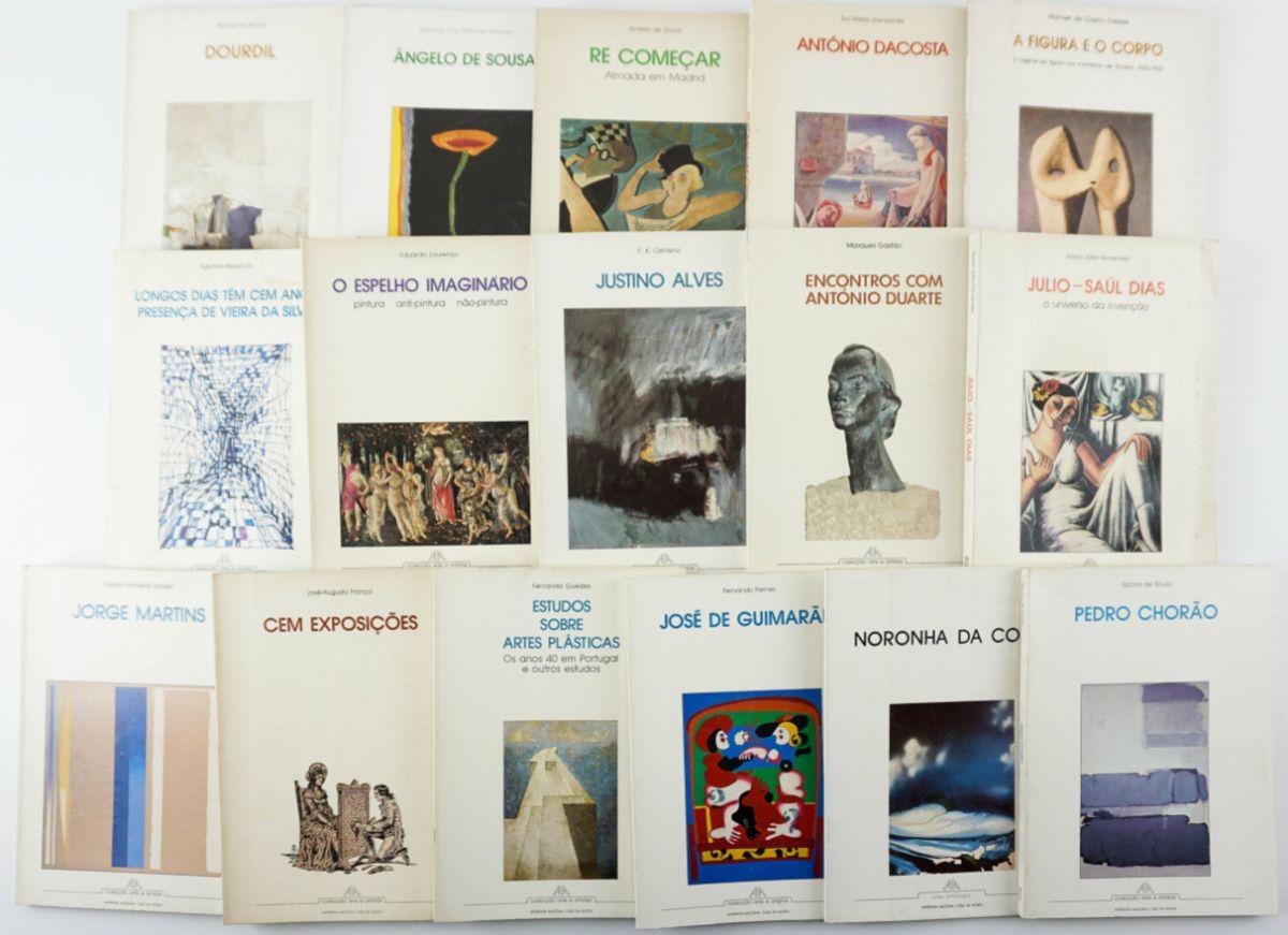 Colecção Arte e Artistas da Imprensa Nacional