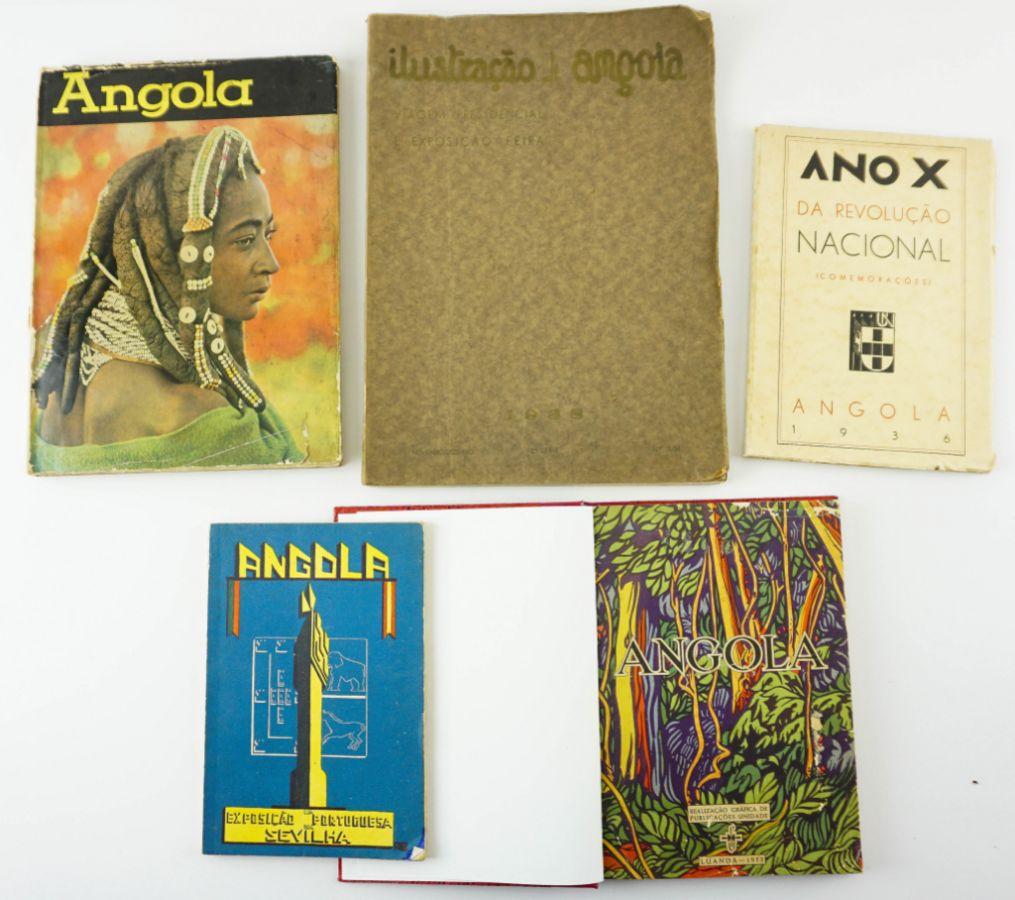 Angola – Livros