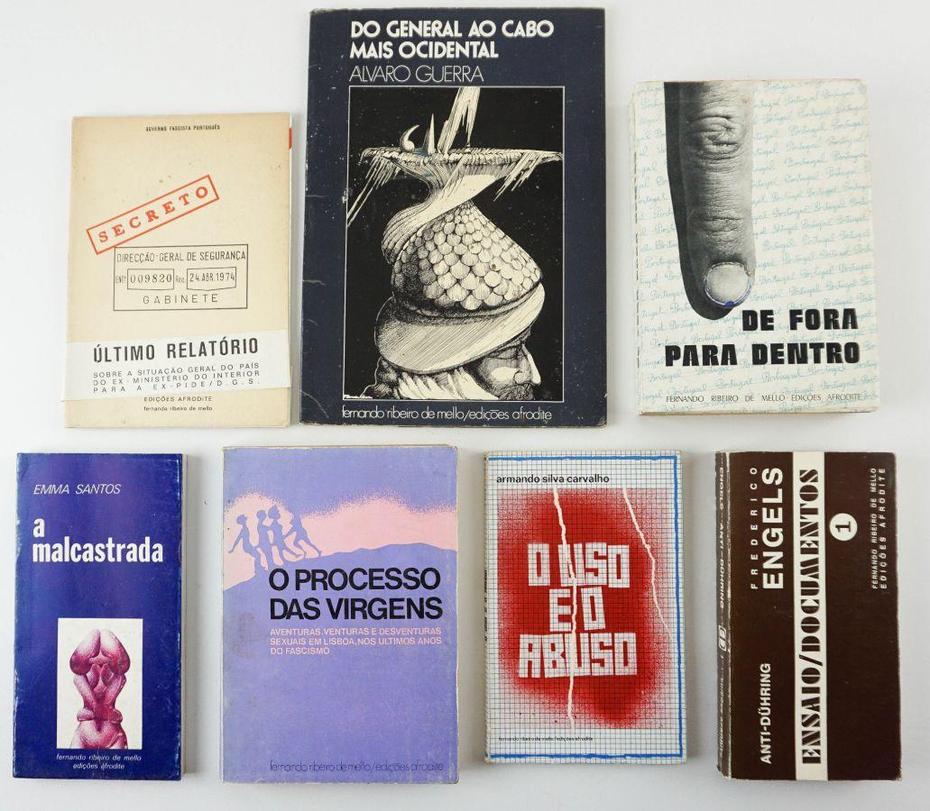 Edições Afrodite / Ribeiro de Melo