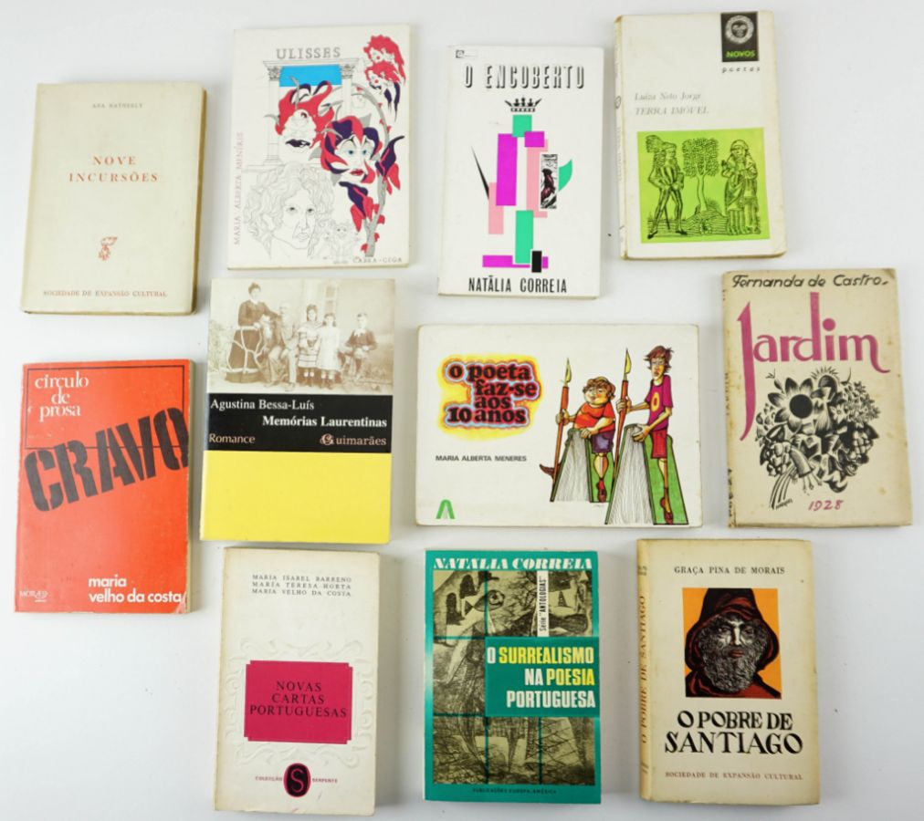 Literatura Portuguesa – Primeiras Edições Autoras Portuguesas